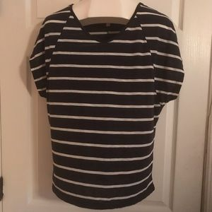 Short sleeve striped T